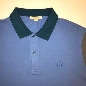 Burberry (placket cotton polo) shirt